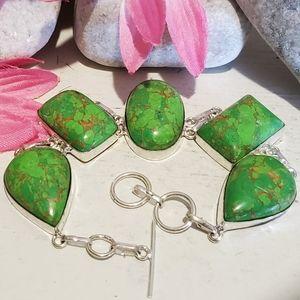 Jewelry - 💚 GREEN COPPER BRACELET
